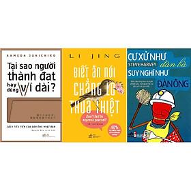[Download Sách] Combo Tại Sao Người Thành Đạt Hay Dùng Ví Dài + Cư Xử Như Đàn Bà Suy Nghĩ Như Đàn Ông + Biết Ăn Nói Chẳng Lo Thua Thiệt