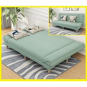 Ghế Sofa Giường. Ghế Sofa Đa Năng. Giường Sofa Gấp Gọn Thành Ghế Sofa. Phong Cách Bắc Âu. KT 1m8 x 1m