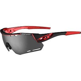 Kính mát thể thao Unisex Tifosi Alliant - Gọng Black / Red, Bộ 3 tròng Smoke / AC Red / Clear