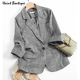 Áo Blazer Khoác Ngoài Dài Tay Kiểu Dáng Trẻ Trung Haint Boutique AK35