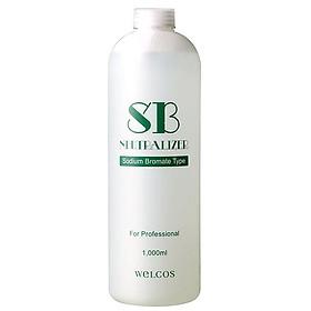 Uốn tóc số 2 welcos SB neutralizer 1000ml