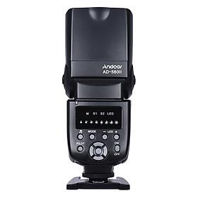Đèn Flash Andoer AD-560 II Cho Máy Ảnh DSLR Canon/Nikon