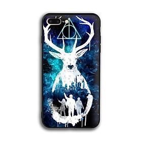 Ốp lưng Harry Potter cho điện thoại Iphone 7 Plus / 8 Plus - Viền TPU dẻo - 02006 7769 HP01 - Hàng Chính Hãng