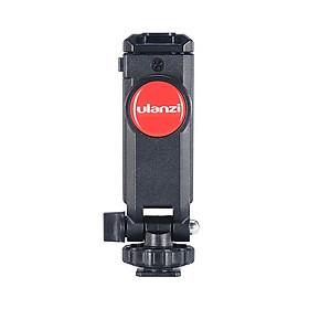 Gá kẹp điện thoại Ulanzi ST-06 gắn lên tripod, thanh trượt quay video, ring light hàng nhập khẩu