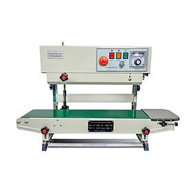 Máy hàn miệng túi liên tục AS02.Đây là dòng máy tiết kiệm nhân công với hiệu suất làm việc cao, có thể điều chỉnh nhiệt độ hàn cho phù hợp với từng loại nguyên liệu, nên rất được ưa chuộng sử dụng. Hàng chính hãng Thái Lan