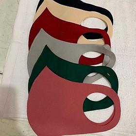 Combo 10 Khẩu trang vải nhiều màu