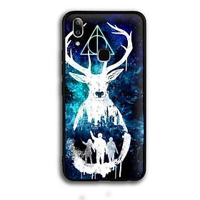 Ốp lưng Harry Potter cho điện thoại Vivo V9 / Vivo Y85 - Viền TPU dẻo - 02074 7769 HP01 - Hàng Chính Hãng