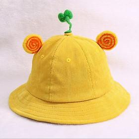 Mũ Vành Mầm Cây Cute Lạc Lối Cho Bé