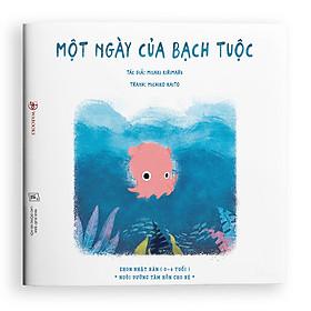 sách Ehon Một ngày của bạch tuộc