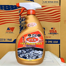 Tẩy block máy USA số 1 của Mỹ P.Q.P VKT-HC-009-650 (650gr)