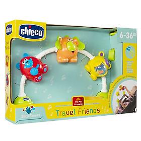 Đồ chơi treo xe đẩy phát nhạc Những người bạn Chicco