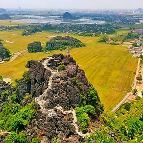 Tour 2N1Đ Hà Nội - Hoa Lư - Tam Cốc - Hang Múa - Bái Đính - Tràng An, Khách Sạn 3 Sao, Khởi Hành Hàng Ngày