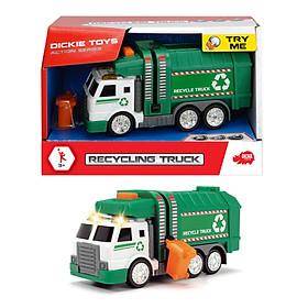 Đồ Chơi Xe Chở Rác Dành Cho Bé DICKIE TOYS Recycling Truck 203302018 - Đồ Chơi Đức Chính Hãng (15 cm)