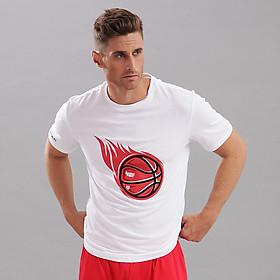 Áo Bóng Rổ Nam Fan T-Shirt White Jartazi SGH032