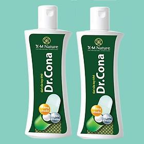 Combo 02 Chai Gel Rửa Tay Khô X-M Nature Dr. Cona 80ml không cần dùng nước, Có tác dụng kháng khuẩn, sát khuẩn, khử mùi, dưỡng ẩm da, nhỏ gọn tiện lợi, dễ sử dụng