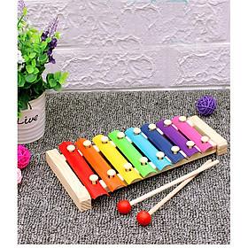Đồ chơi đàn gỗ 8 màu cho bé