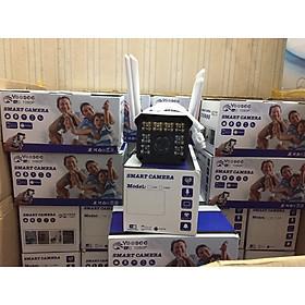 Camera thân ống IP WIFI Yoosee 2mpx 8 led mới, độ phân giải 1080p, 4 awngten, có màu ban đêm, hàng nhập khẩu