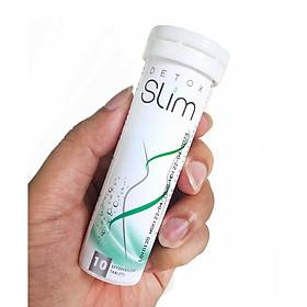 Viên Sủi Giảm Cân Detox Slim - Hỗ Trợ Giảm Béo & Giảm Mỡ Máu Tuýp 10 Viên