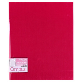 KOKUYO Campus High-end office cloth loose leaf B5 pink WSG-RUP11P