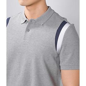Polo ROUTINE - Áo thun Polo nam phối màu form fitted vải cotton CVC cao cấp - POL003 - Shop LASTORE