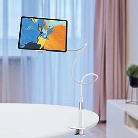 Giá đỡ, kẹp đa năng thông minh cao cấp OLAPLE cho máy tính bảng, ipad và điện thoại di động 4-10,5 inch Có Chân Kẹp Đầu Giường, Tự Do Điều Chỉnh Góc Độ Chiều Cao - Hàng Chính Hãng