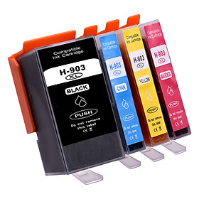 Aibecy 903XL Ink Cartridges Replacement for HP 903XL 903 Compatible with HP Officejet Pro 6950 6960 6970 All-in-One