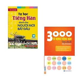 Combo sách: Tự Học Tiếng Hàn Dành Cho Người Mới Bắt Đầu + 3000 Từ Vựng Tiếng Hàn Theo Chủ Đề