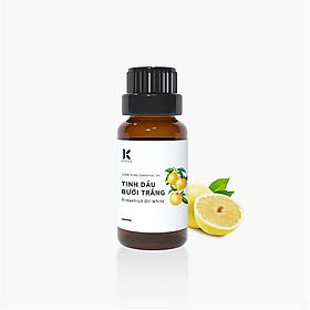 Tinh dầu Bưởi Trắng Kepha 20ml - Cam kết nguyên chất 100%, nhập khẩu trực tiếp Tây Ban Nha - Giúp làm đẹp, kích thích tóc mọc, giảm tóc rụng - Khử mùi, thư giãn, giảm stress, giúp sạch không khí