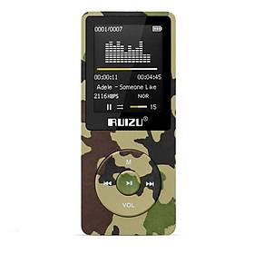 Máy Nghe Nhạc MP3 Lossless Ruizu X02 Bản 16GB Màu Rằn Ri Cao Cấp - Hàng Chính Hãng
