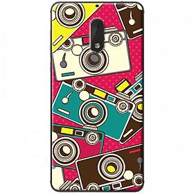 Hình đại diện sản phẩm Ốp lưng dành cho Nokia 6 mẫu Máy ảnh nền hồng