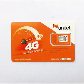 Sim 4G Lào 7 ngày, Không giới hạn Data tốc độ cao