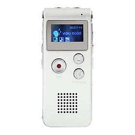 Máy Ghi Âm Kỹ Thuật Số USB Hỗ Trợ Trình Phát MP3 (650Hr) (8GB)