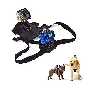 Dog Chest Straps Sports Camera Fixed Straps Adjustable Straps Camera Straps Camera Accessory Compatible with gopro hero7