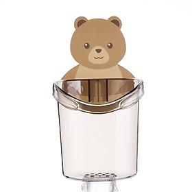 Cốc Gấu đựng bàn chải, kem đánh răng