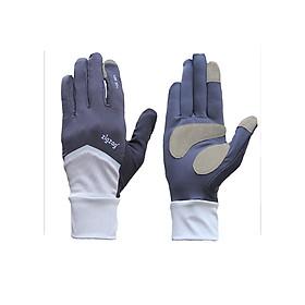 Găng tay Nonstop chống nắng UPF50+ xám đen Zigzag GLV01001