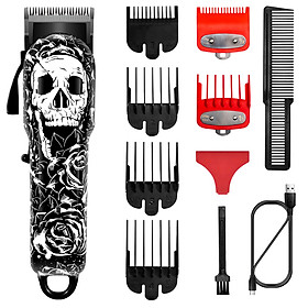 Surker Electric Hair Clipper Professional Hair Trimmer Modeling Shaver Hair Cutting Machine Fashion