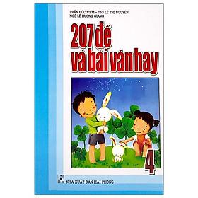 207 Đề Và Bài Văn Hay Lớp 4