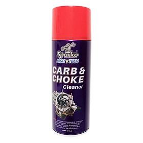 Bình Xịt Vệ Sinh Bình Xăng Con Sparko Carb & Choke Cleaner (400ml)
