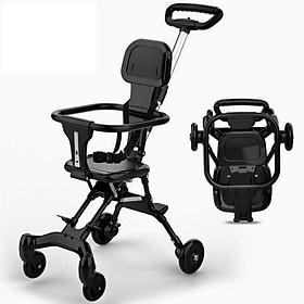 Xe đẩy thông minh 2 chiều, siêu gấp gọn siêu nhẹ, an toàn cho bé