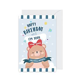 Thiệp chúc mừng sinh nhật Birthday - Present Fairy Corner