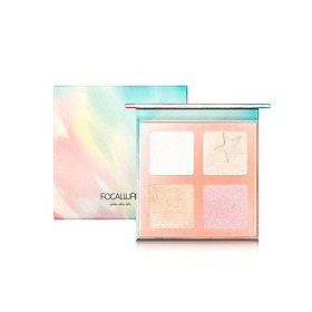 Concealer Powder High Gloss Powder Professional 4 Colors 16g Matte Makeup for Focallure