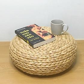 Ghế đôn lục bình (bèo) đa năng bầu bụng dùng để ngồi, làm bàn trà thấp, decor kiểu Hàn