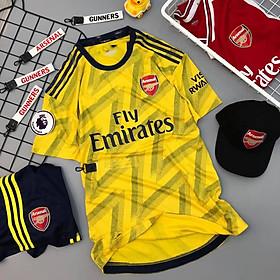 Bộ quần áo bóng đá Thái Lan cao cấp Arsenal vàng 2019-2020