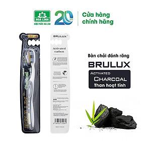 Bàn chải đánh răng Brulux Activated Charcoal than hoạt tính