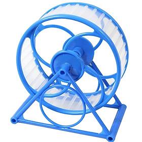 Wheel Nhựa cho Hamster - Đồ chơi cho Hamster (Giao màu ngẫu nhiên)