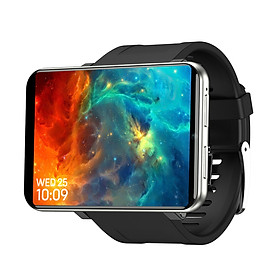 TICWRIS MAX 2.86'' 2880mAH Smart Watch SIM Card Slot Face Unlock IP67 Waterproof Camera & Video Pedometer Heart Rate