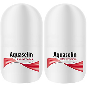 Combo Lăn Nách Dành Cho Nữ Aquaselin Insensitive Women Antiperspirant For Increased Perspiration 20ml
