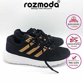 Giày thể thao nam nữ sneaker chạy bộ running đế cao su non 2.0 Rozmoda G26