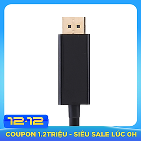 Cáp chuyển USB C ra Displayport 4K 60Hz - UTD18460