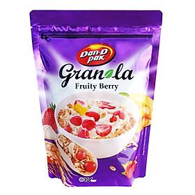 NGŨ CỐC ĂN KIÊNG GRANOLA 600GR TRÁI CÂY VÀ HẠT FRUITY BERRY